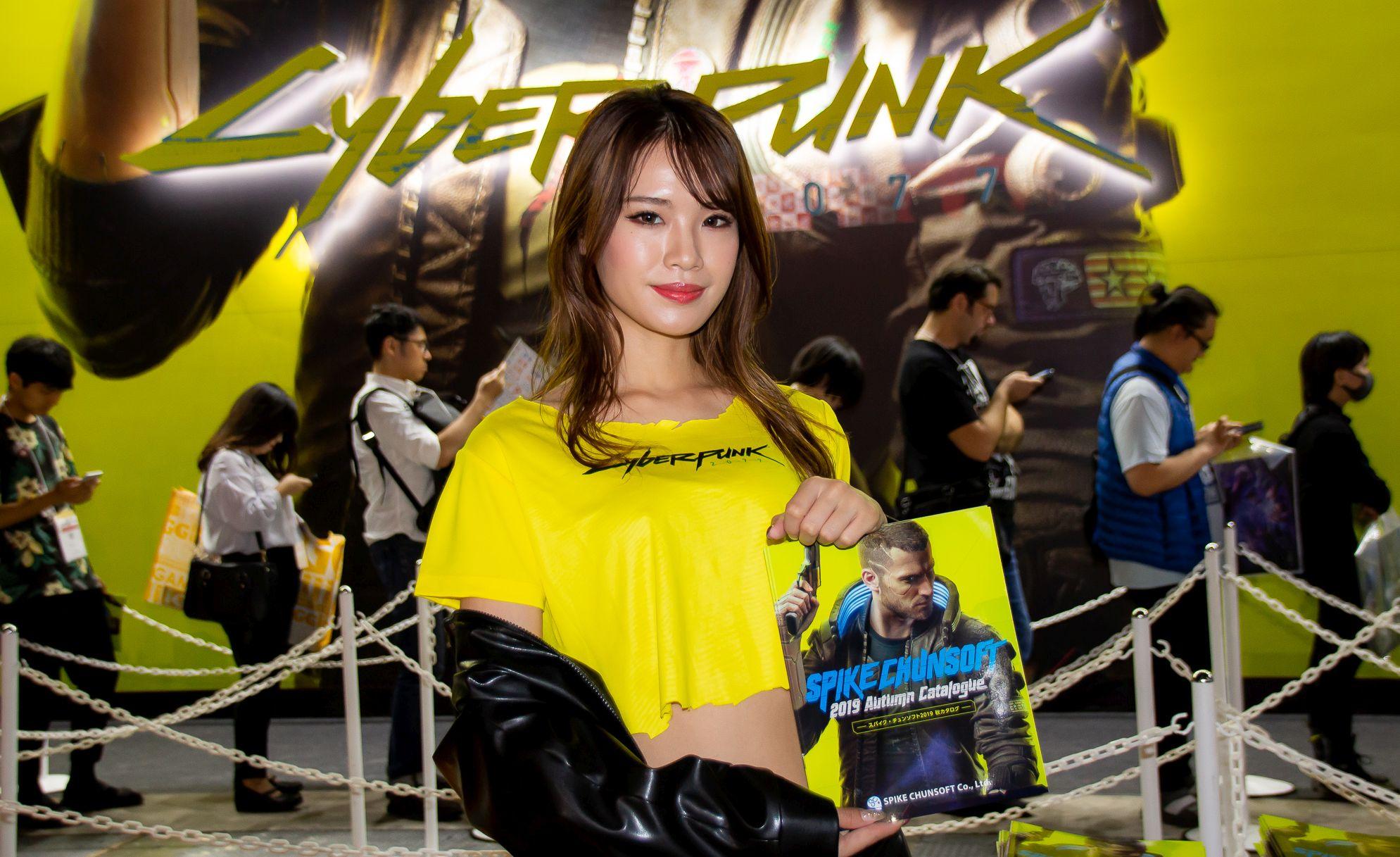東京ゲームショウ2019 コンパニオンさん写真まとめ(サイバーパンク2077) #TGS2019