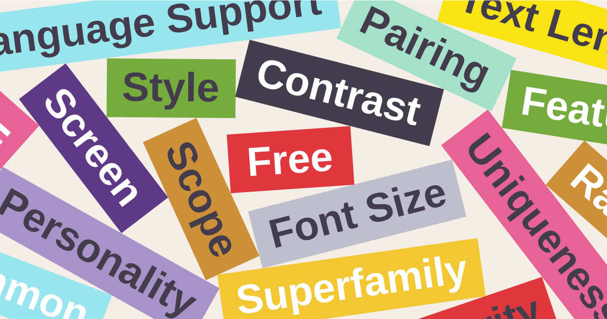 Choosing Web Fonts: A Beginner's Guide - Library - Google Design