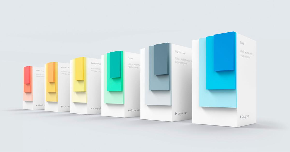 Material Design Awards 2015 Library Google Design