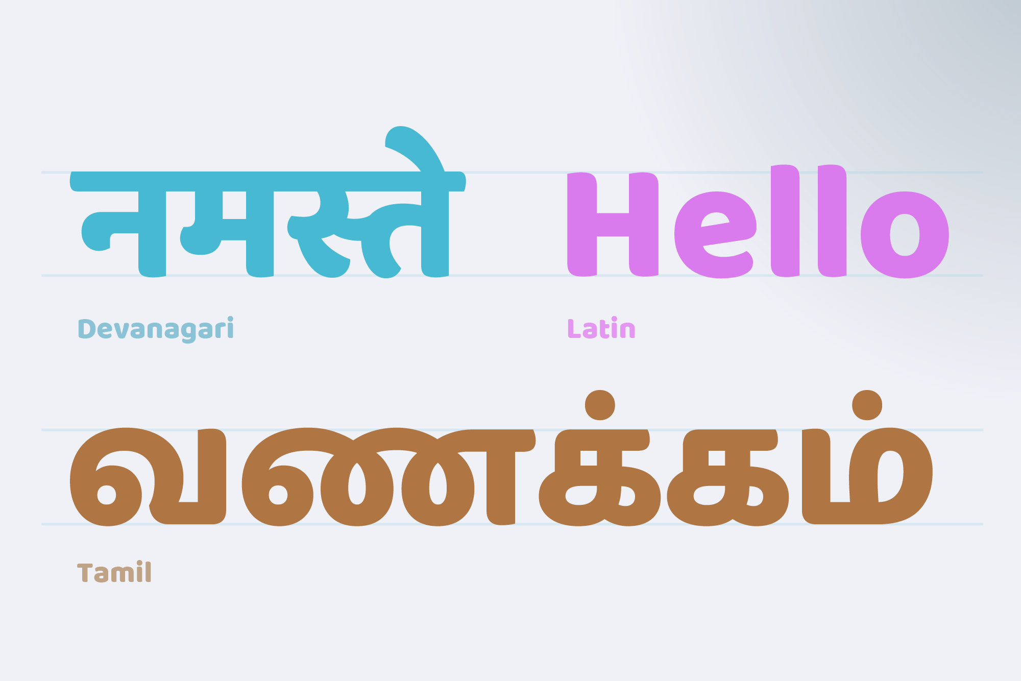 The New Wave of Indian Type - Library - Google Design