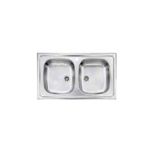 Lavello 90 centrimetri a 2 vasche