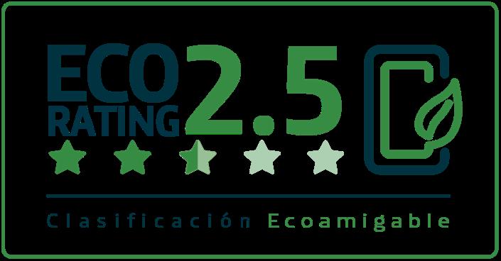 Clasificacion eco rating 2.5