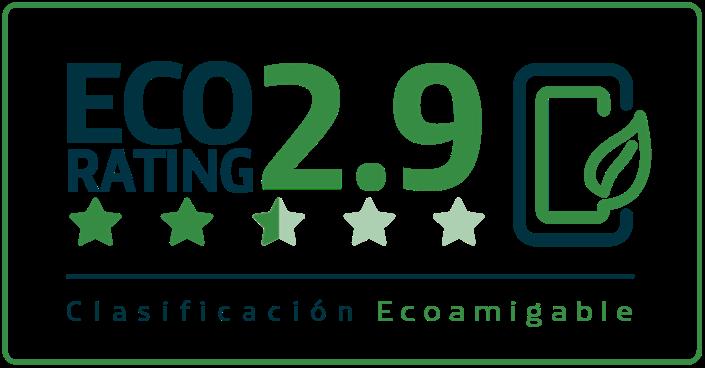 Clasificacion eco rating 2.9
