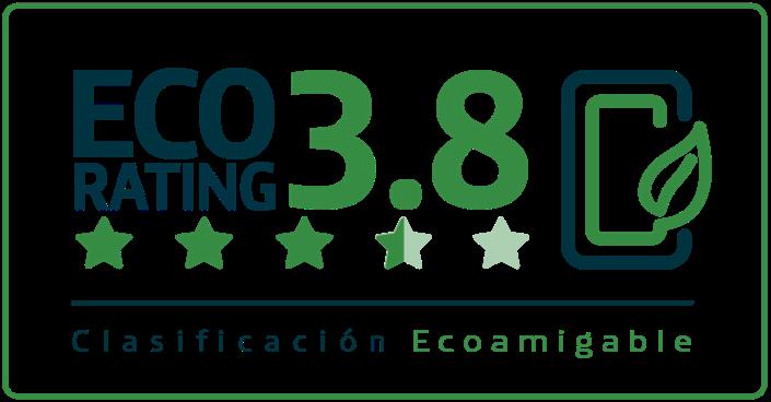 Clasificacion eco rating 3.8