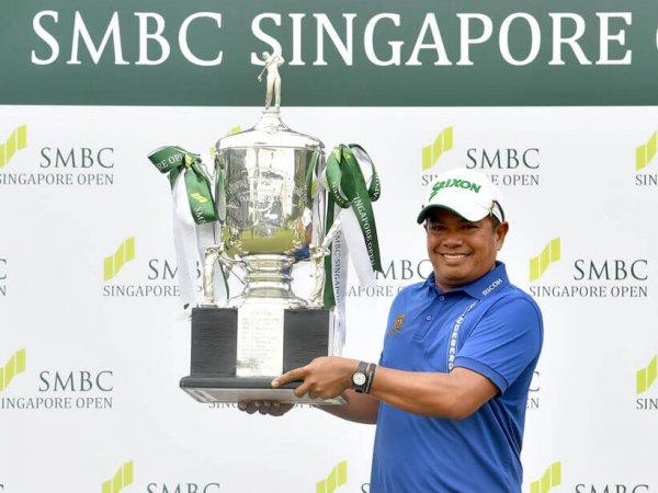 ประหยัด ซิวแชมป์ สิงคโปร์ โอเพน 2017