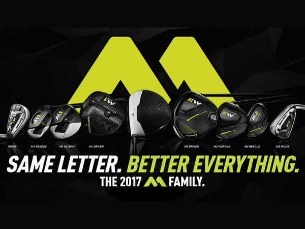 TaylorMade 2017 M1 and M2