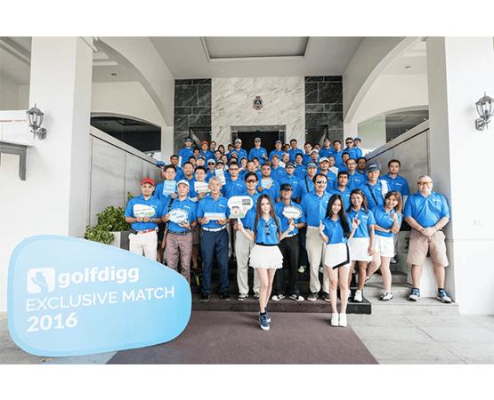 golfdigg จัด golfdigg exclusive match 2016 สร้างประสบการณ์ตีกอล์ฟสุดเอ็กคูซีฟ ปีที่ 2