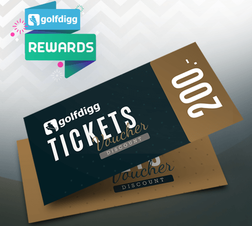 Golfdigg Reward TICKETS Voucher 200 THB