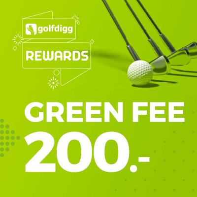 Golfdigg Reward Green fee voucher 200 THB