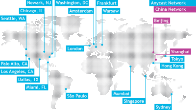 GEMServers datacenter map