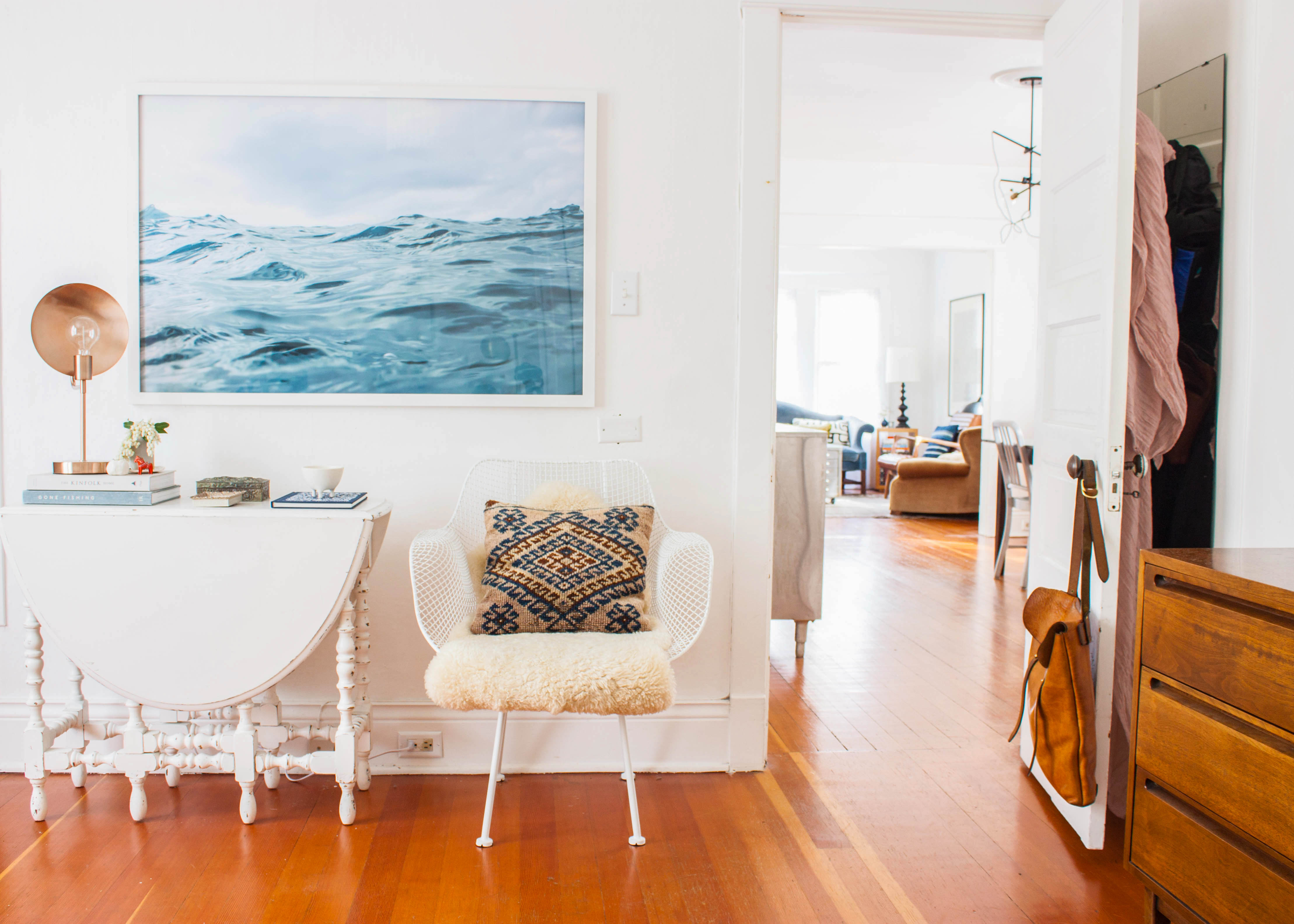 How To Hang A Picture - Wall Art Tips, Video   Apartment Therapy