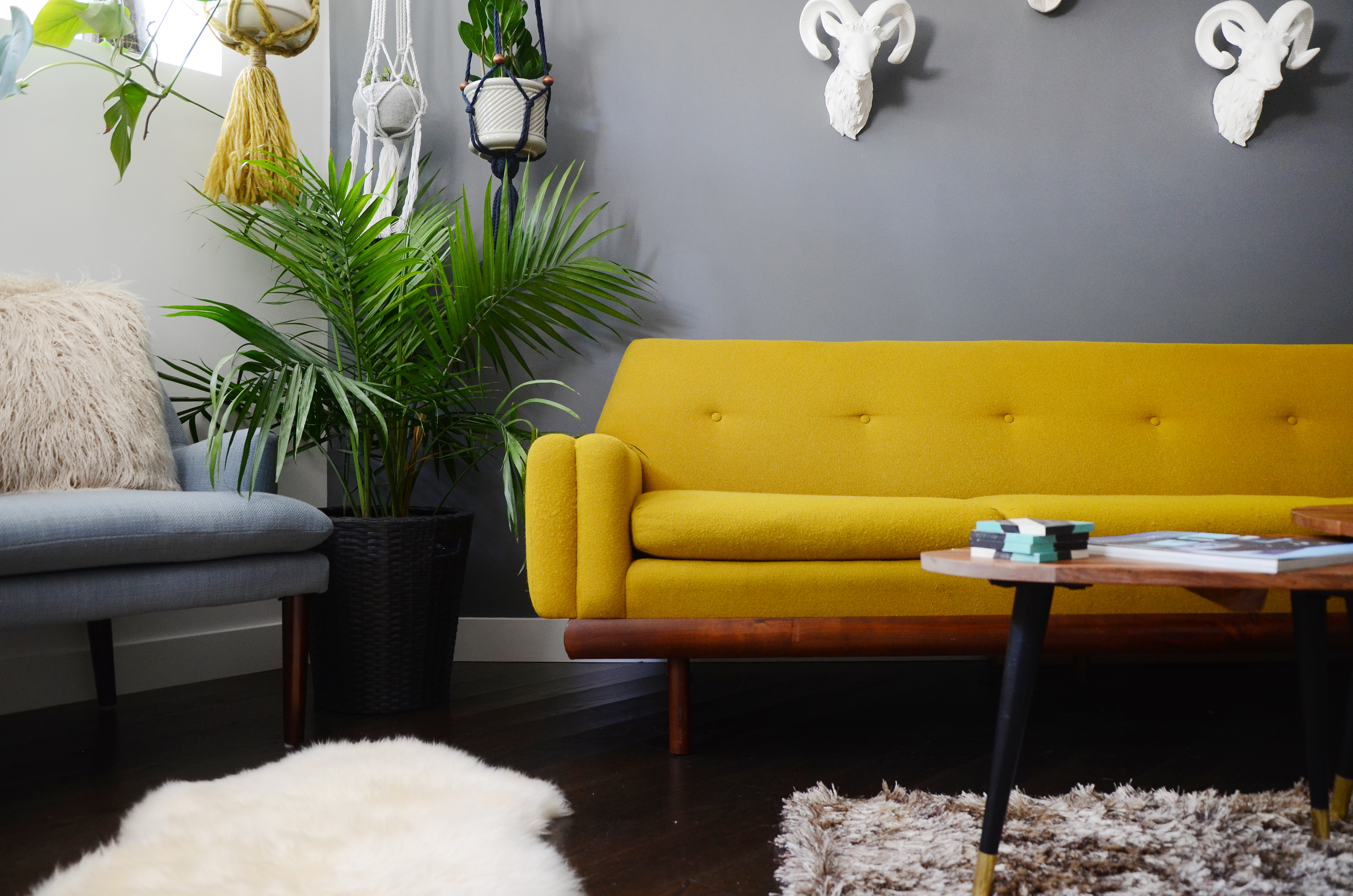 Fantastic 10 Colors To Complement Yellow Apartment Therapy Squirreltailoven Fun Painted Chair Ideas Images Squirreltailovenorg