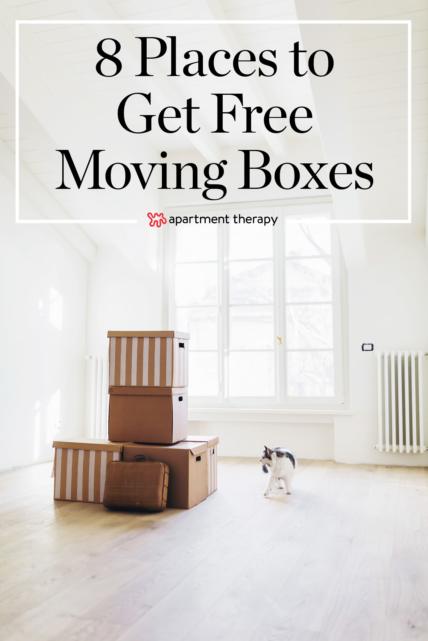 8 Places to Get Free Moving Boxes | Apartment Therapy