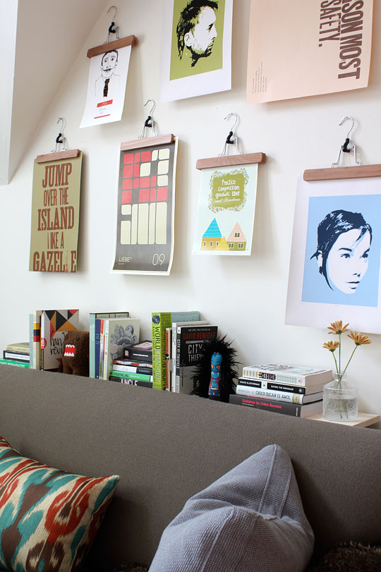 How To Create A Visual Display On A Low Budget Apartment Therapy