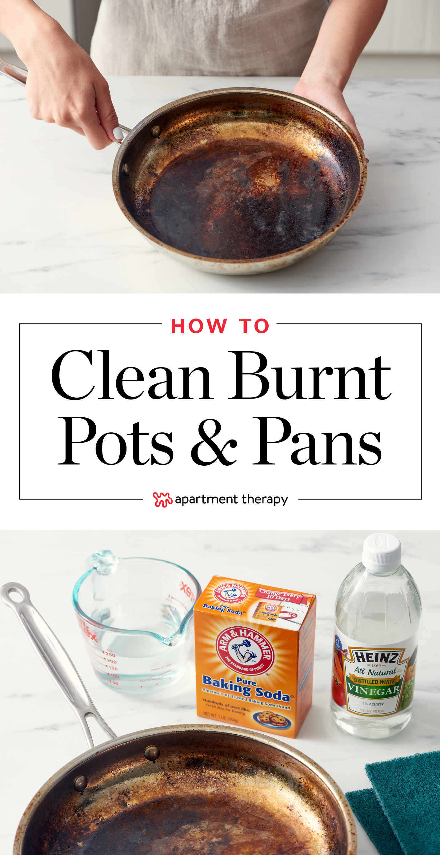 How To Clean A Burnt Pot Or Pan How Do You Clean Scorched Stainless Steel Pan Apartment Therapy