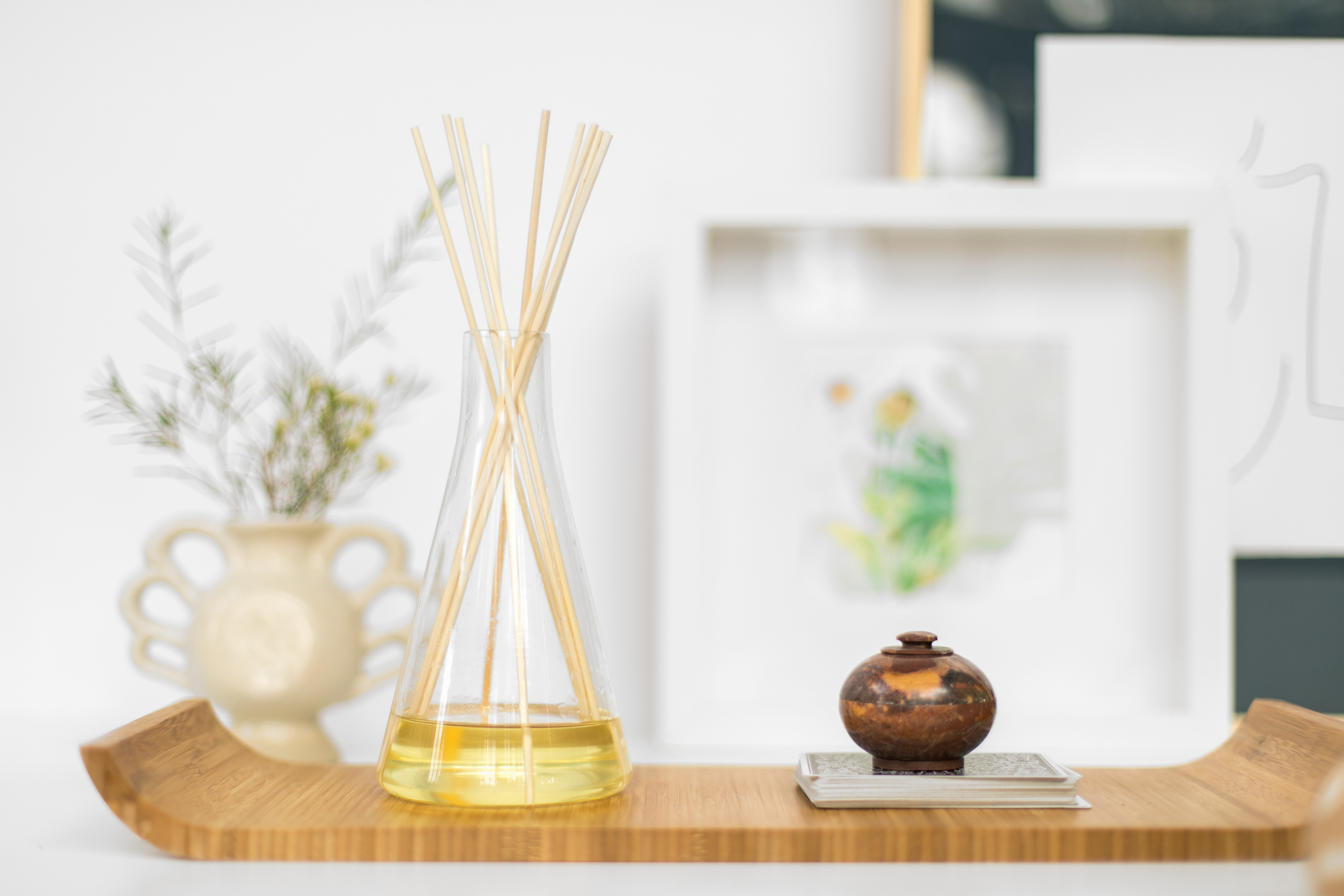 How To Make Homemade Reed Diffusers - Essential Oils