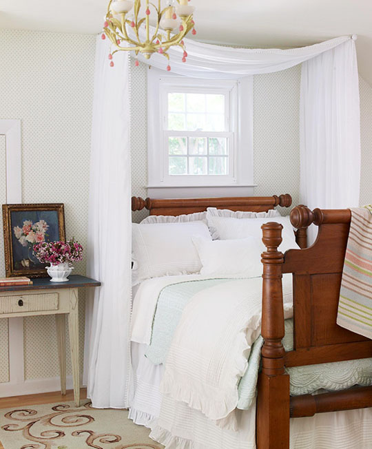 Diy Ideas For Getting The Look Of A Canopy Bed Without Ing New Apartment Therapy