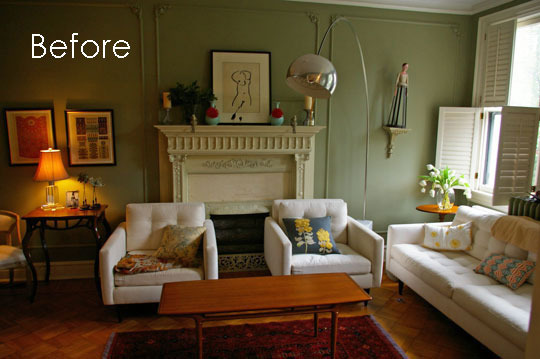 Living Room Layout Challenge, Revisited: A Before & After ...