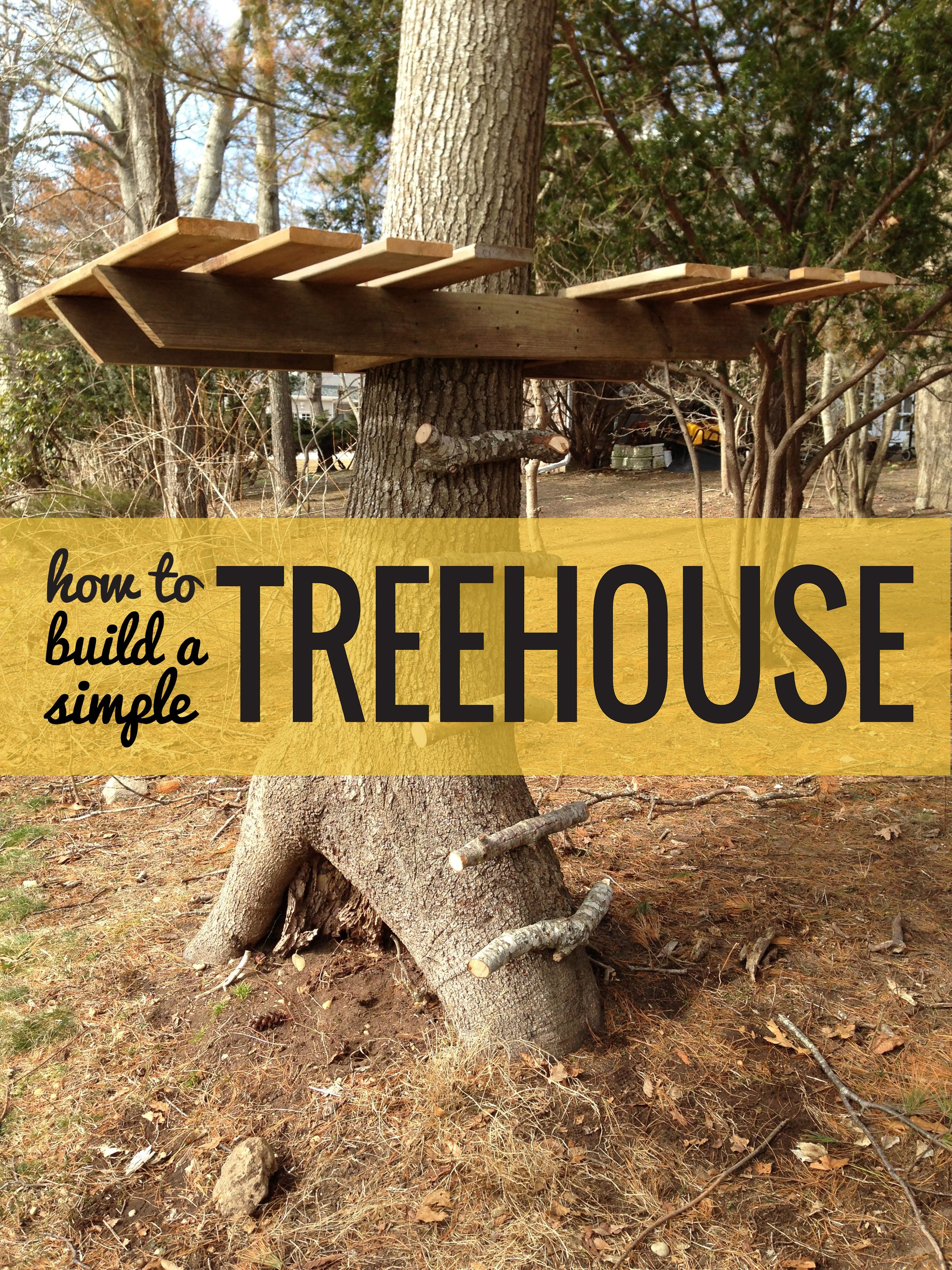 How To Build A Treehouse Apartment Therapy