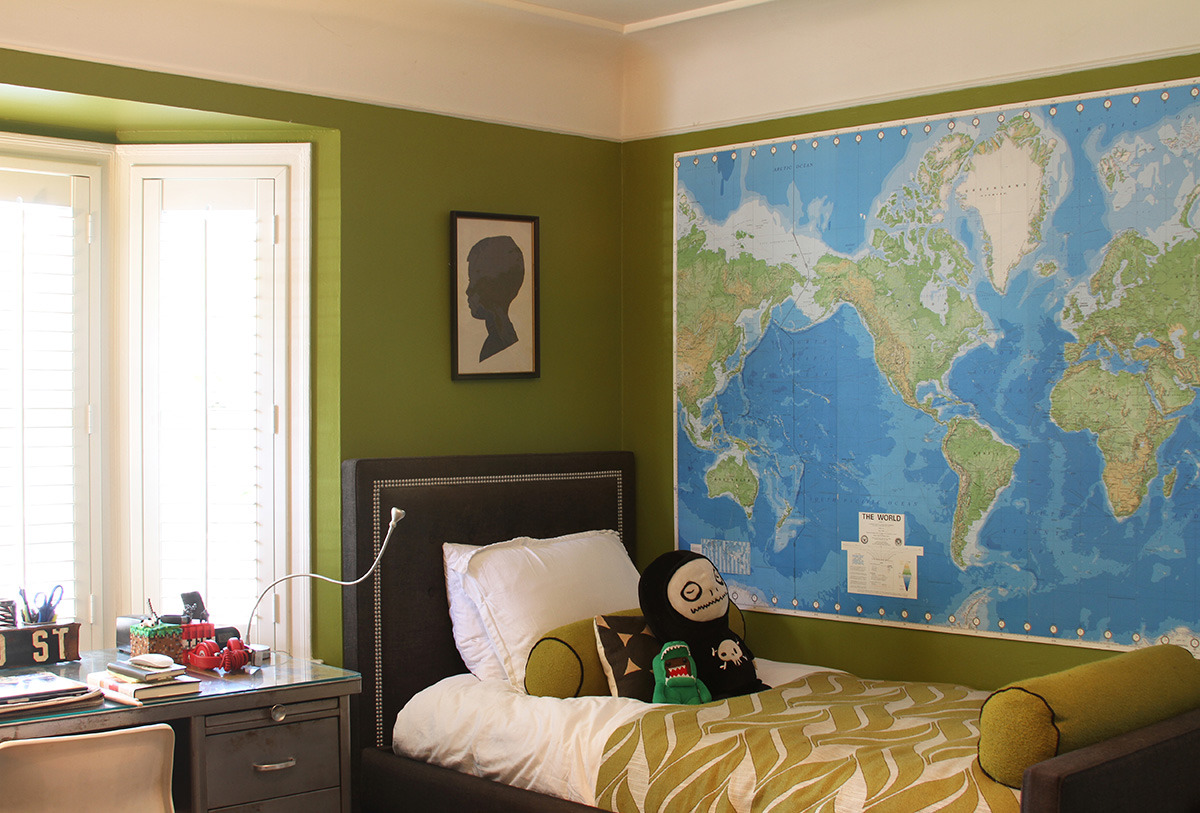 Gender Neutral Color Case Study: Green | Apartment Therapy