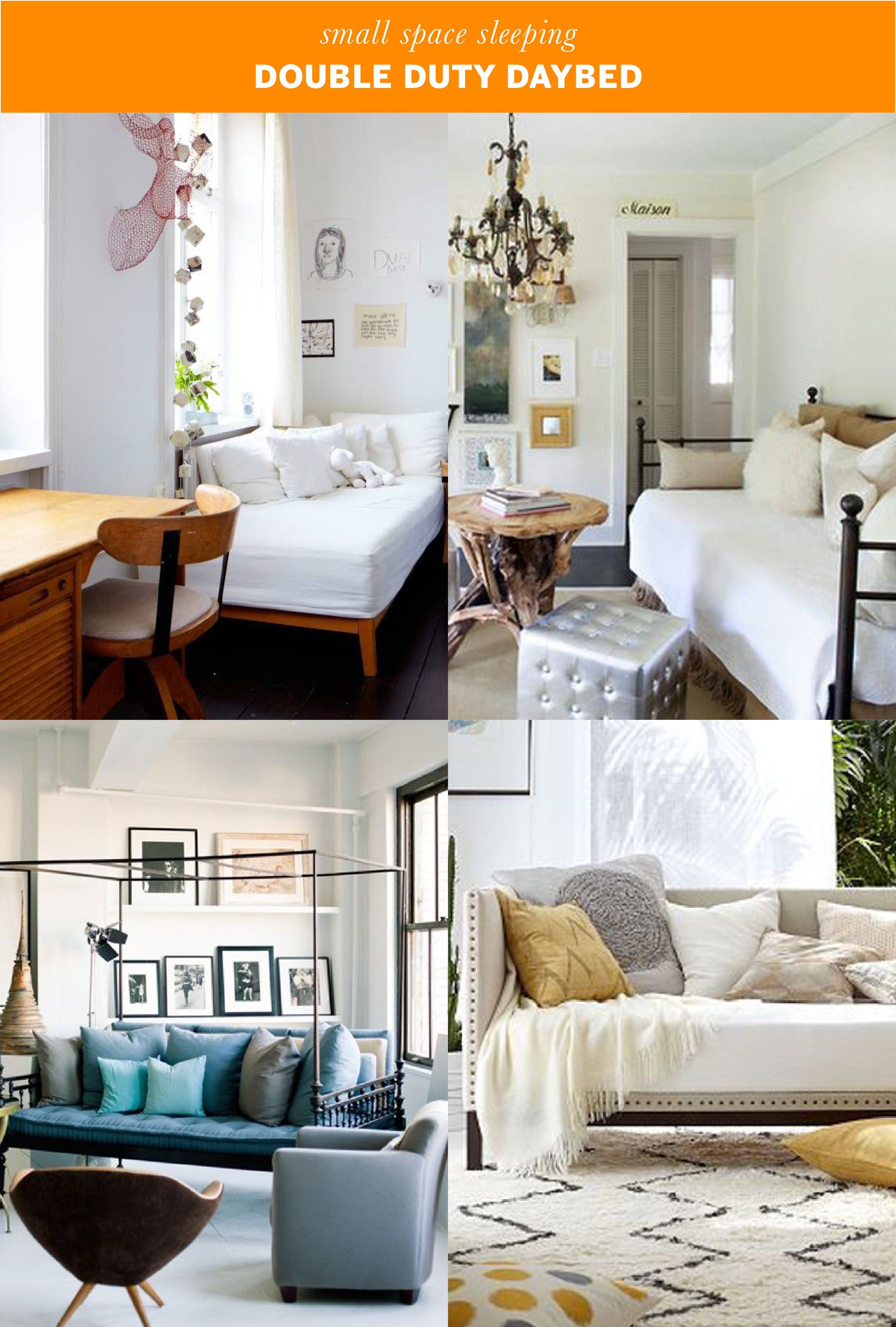 Small Space Sleeping Solutions | Apartment Therapy