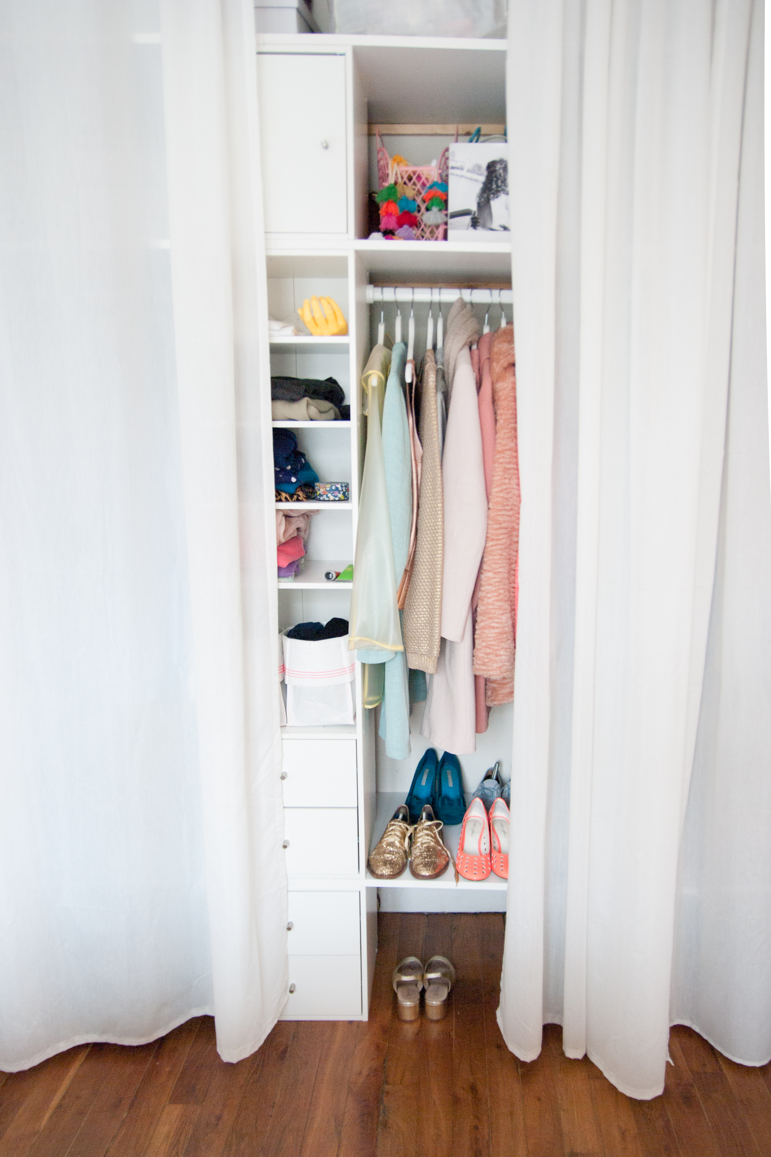 Closet Storage Ideas Small Closet Organization Apartment