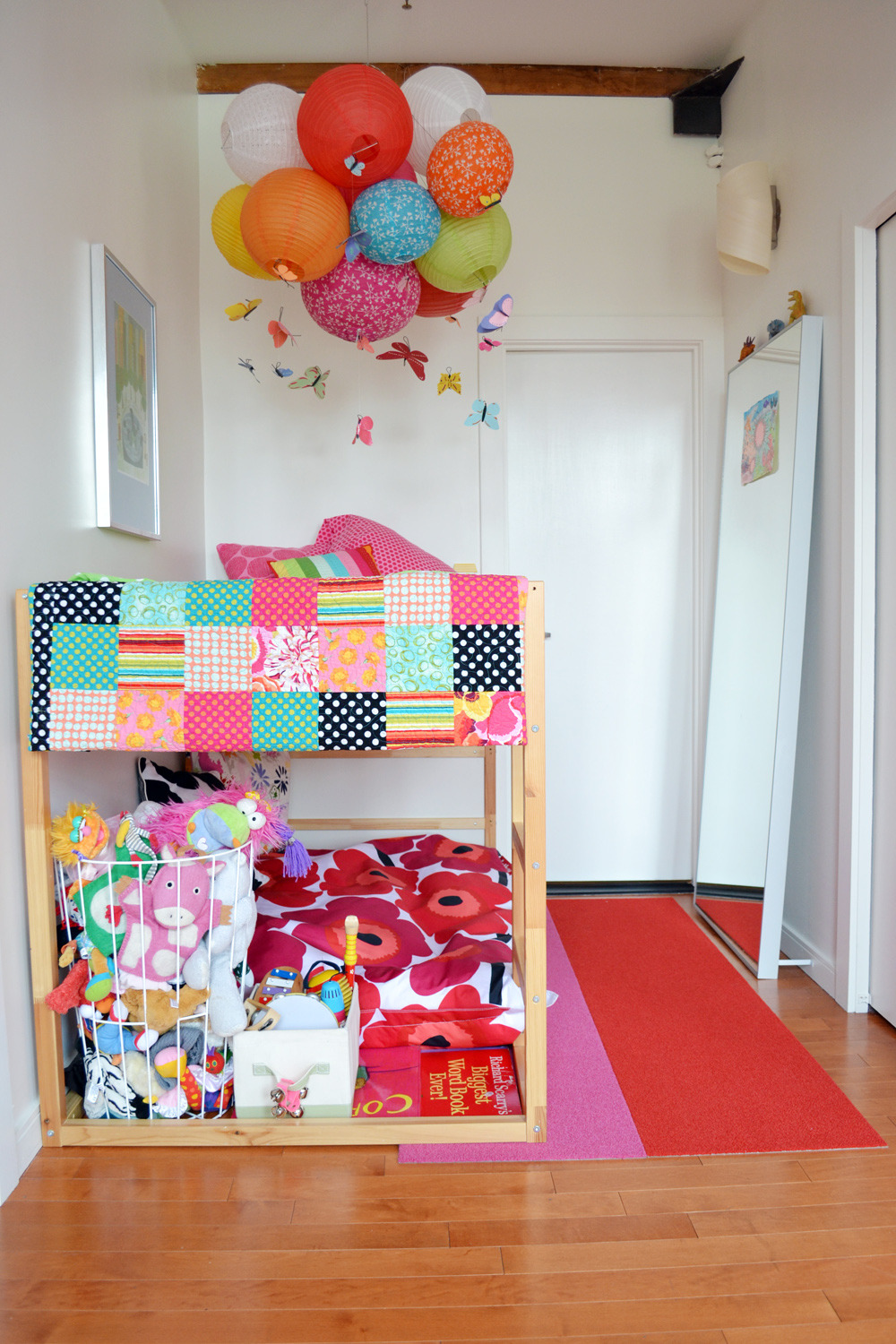 Kura For Two Using Ikea S Low Loft As A Bunk Bed Apartment Therapy