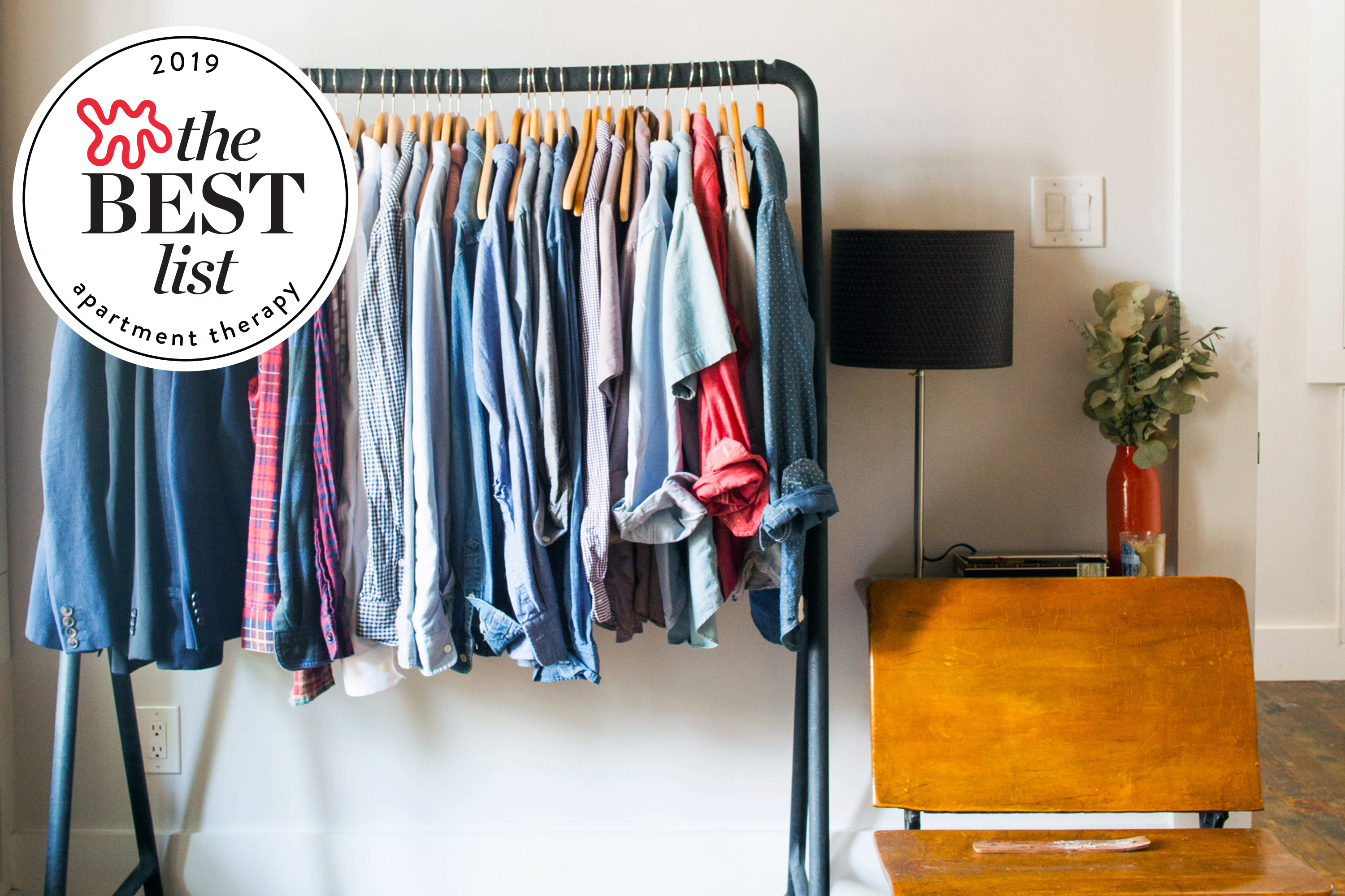 The Best Freestanding Wardrobe Clothes Racks Apartment