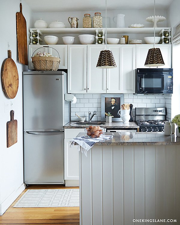 7 Things To Do With That Awkward E Above The Cabinets Apartment Therapy