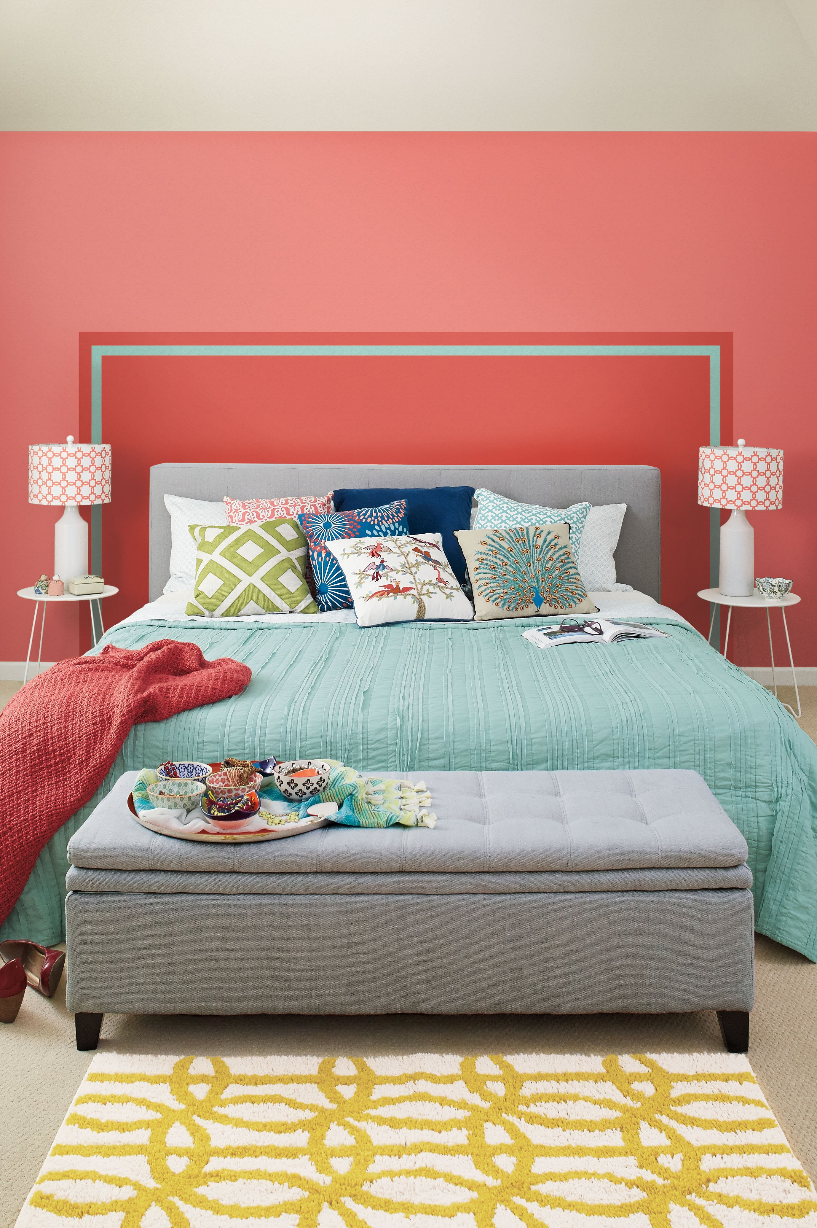Simple Solutions: Painted Headboard | Apartment Therapy