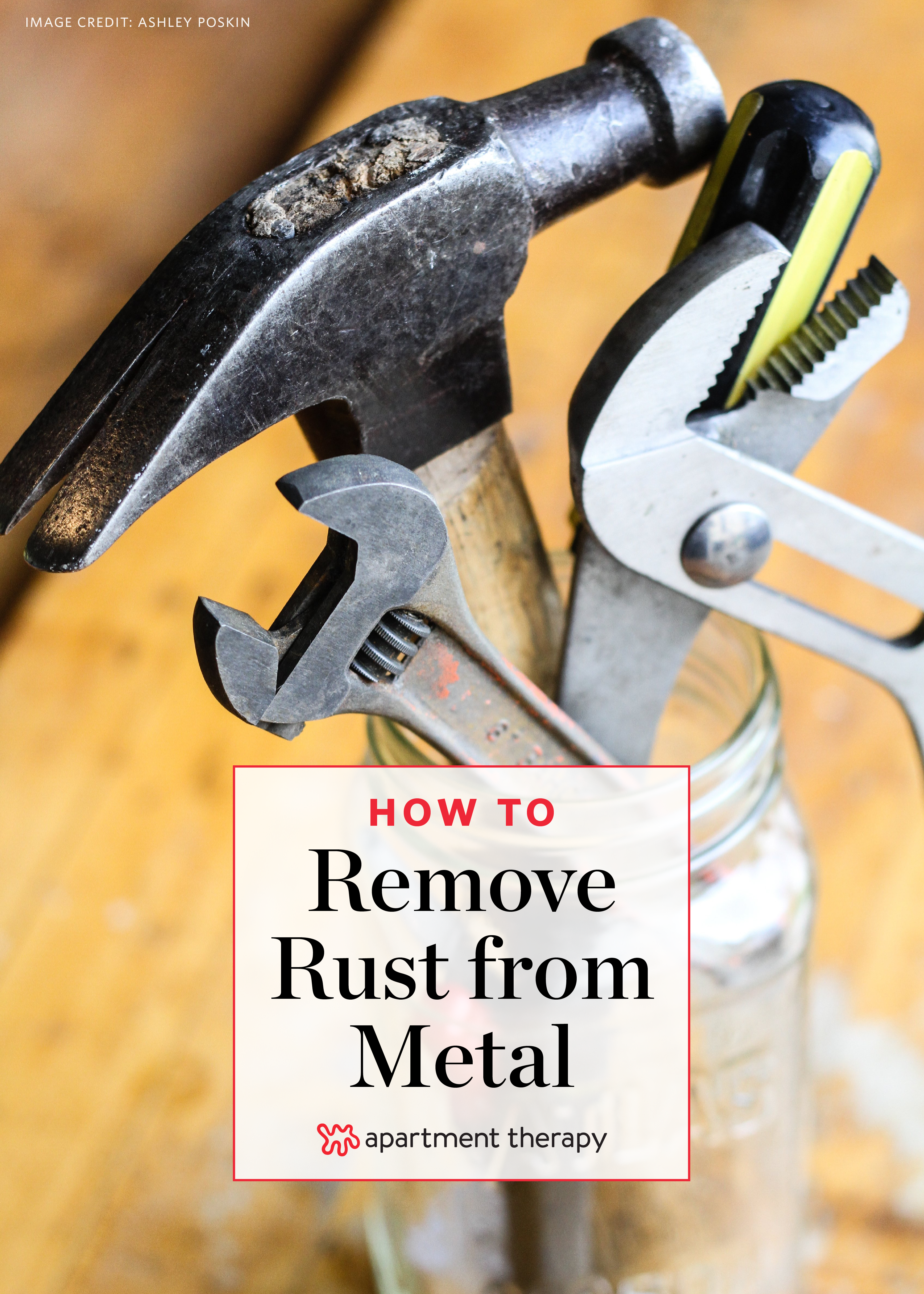How To Remove Rust From Metal Objects Apartment Therapy