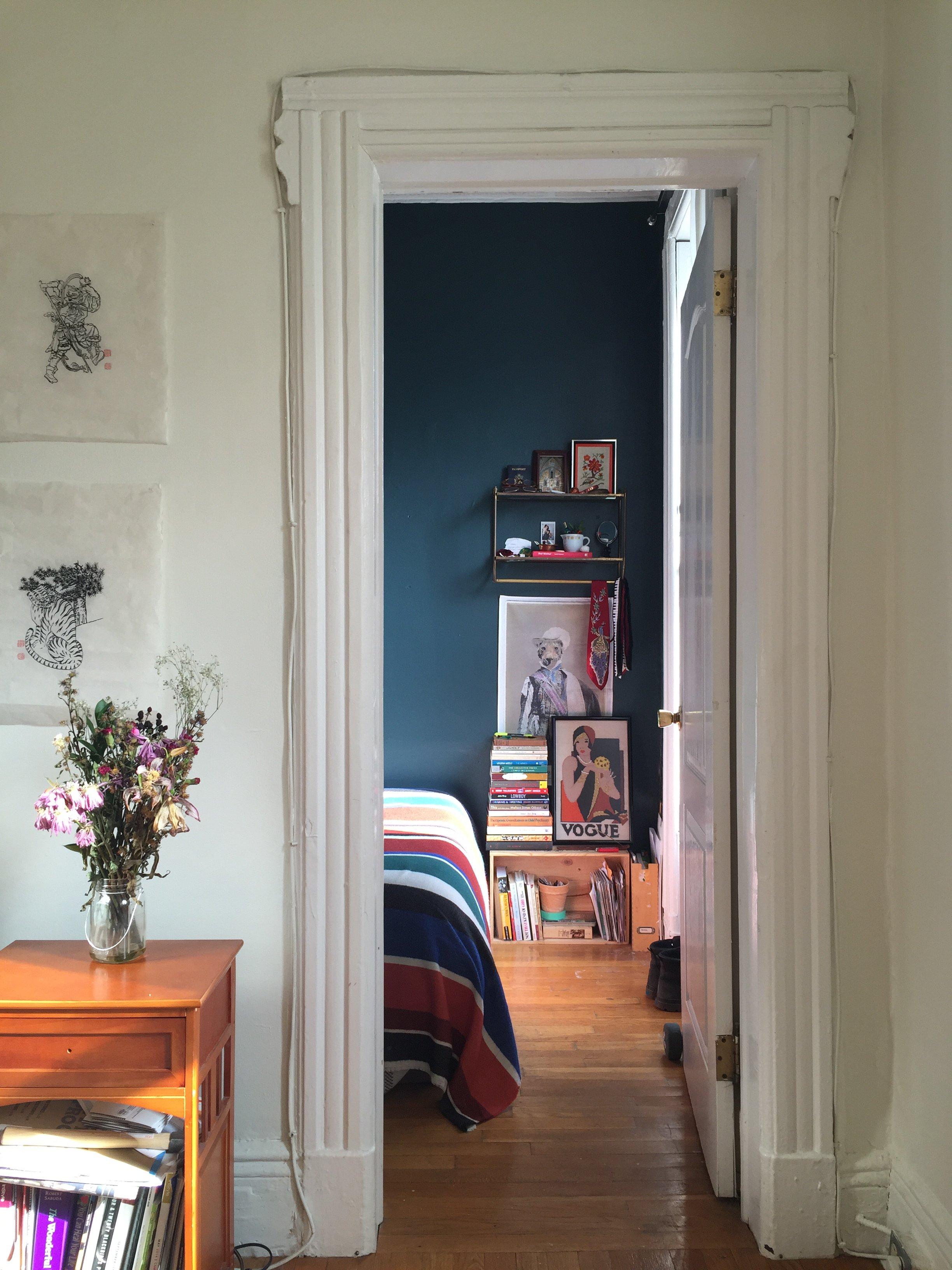 A Tiny Bold And Dark Blue Brooklyn