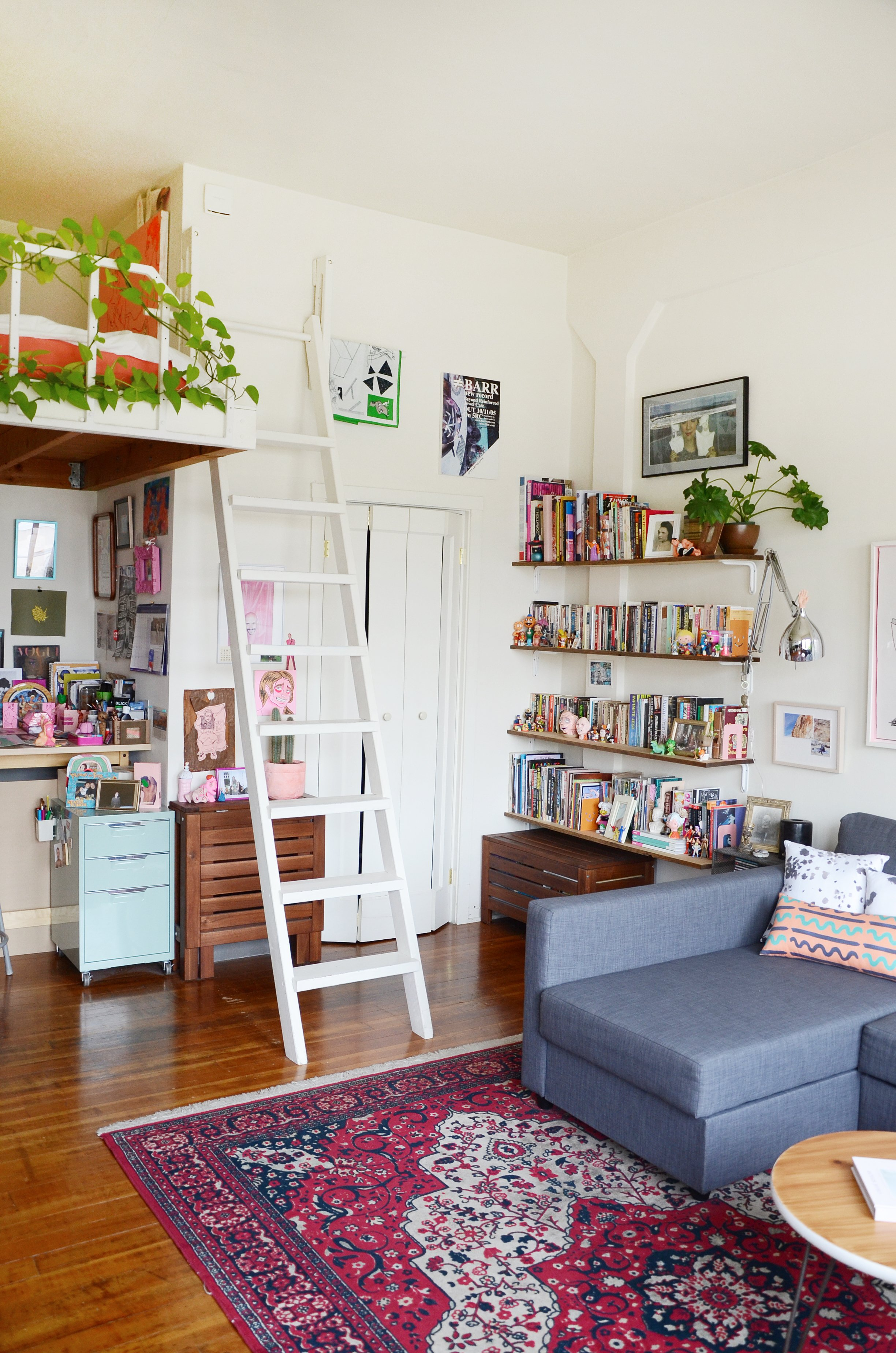 Small Space Ideas From A 300 Square Foot Studio Apartment Therapy
