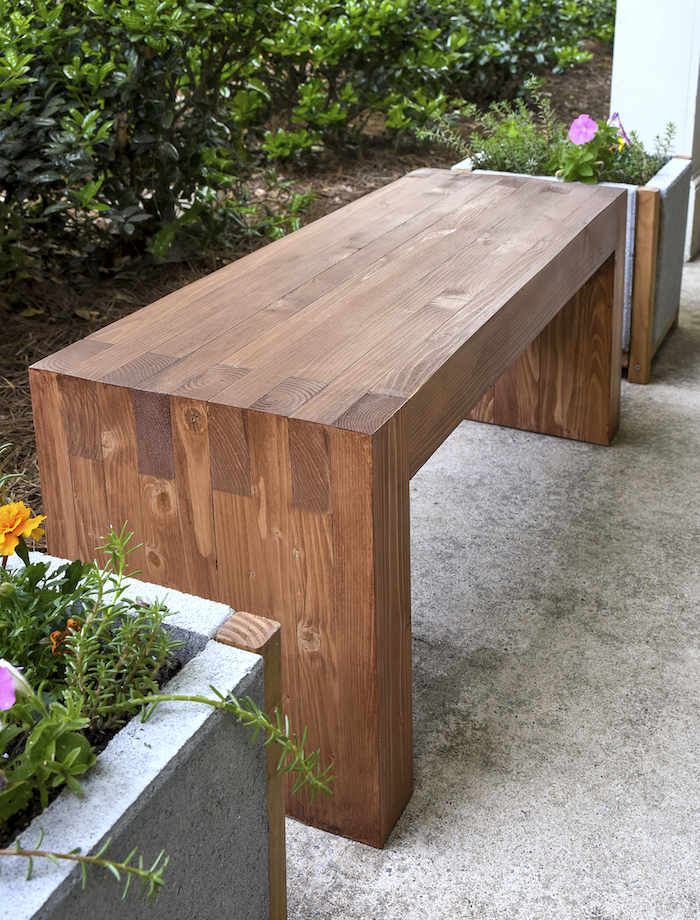 Fantastic Diy Outdoor Wood Bench Apartment Therapy Evergreenethics Interior Chair Design Evergreenethicsorg