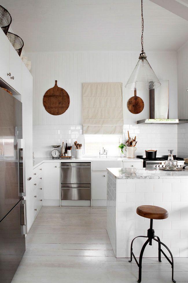 A Dozen Inspiring All White Kitchens Apartment Therapy