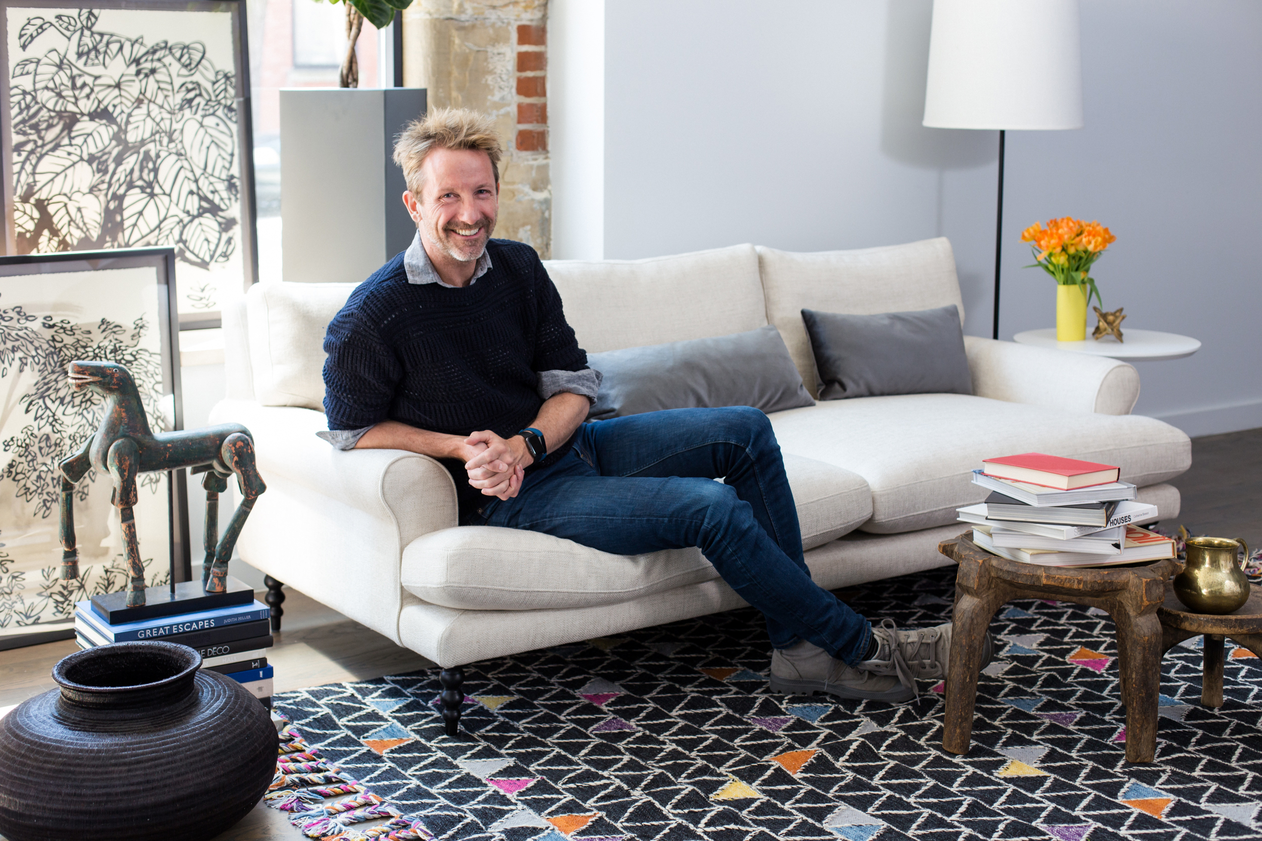 Here S The Recipe For Perfect Sofa Introducing Maxwell Apartment Therapy