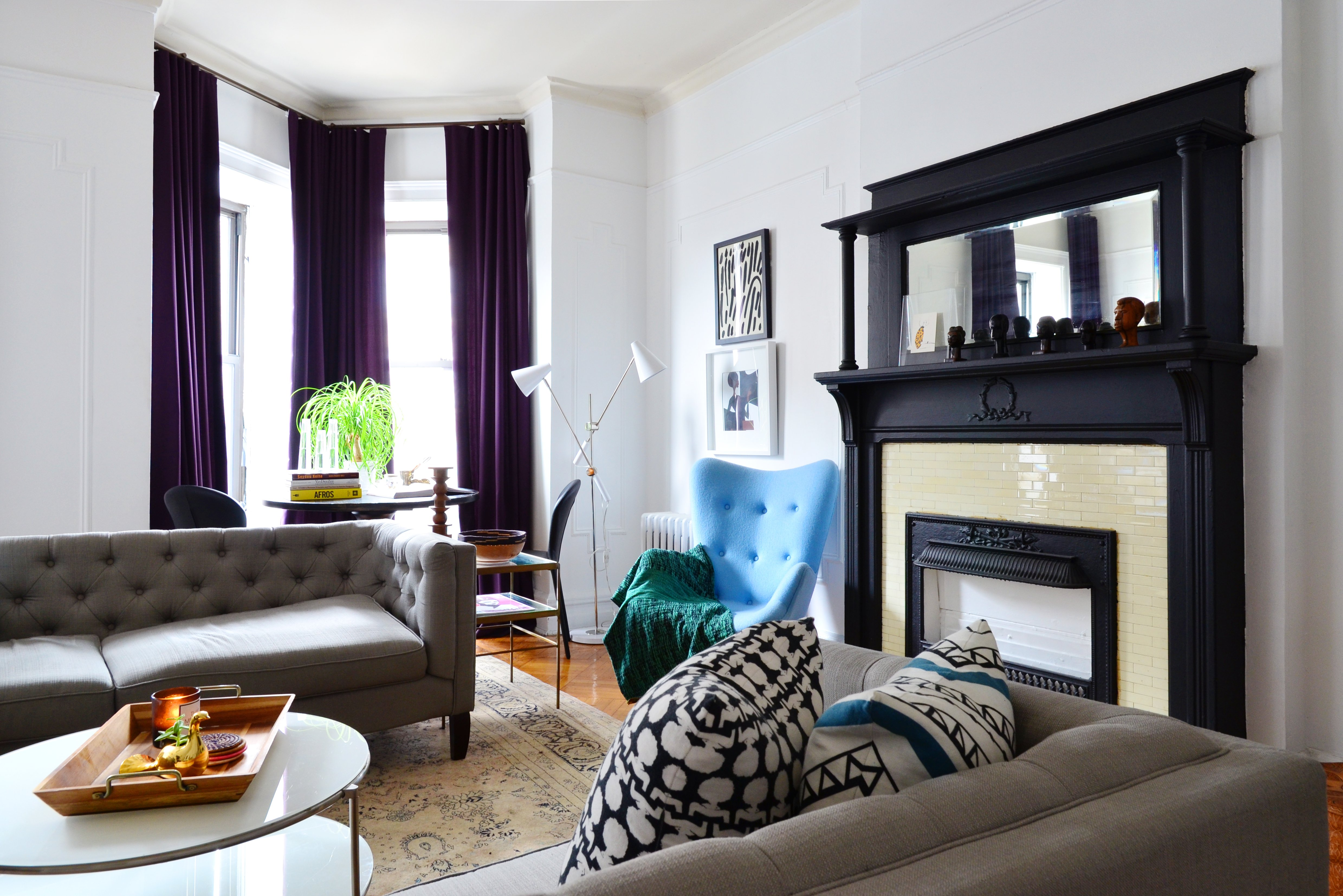 Why You Should Face Sofas to Save Space | Apartment Therapy