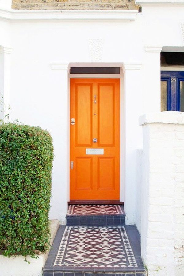 Curb Appeal in Color: A Rainbow Gallery of Front Doors ...