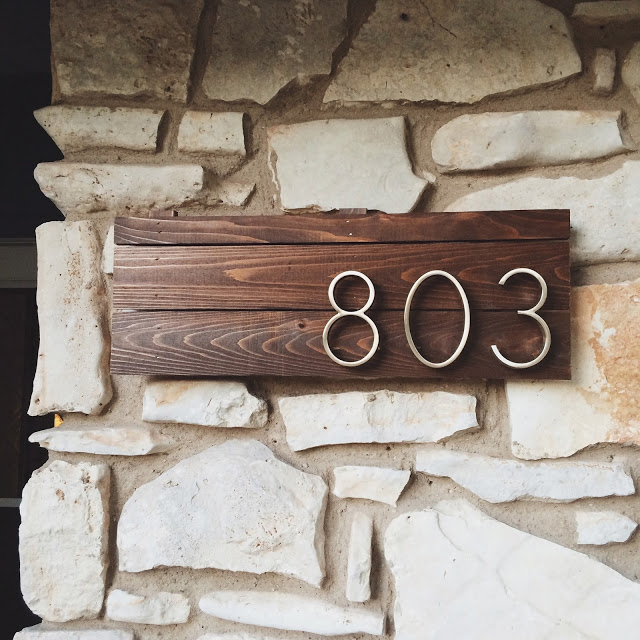 665ba5a88d2 This Must Be The Place  12 House Number DIY Ideas