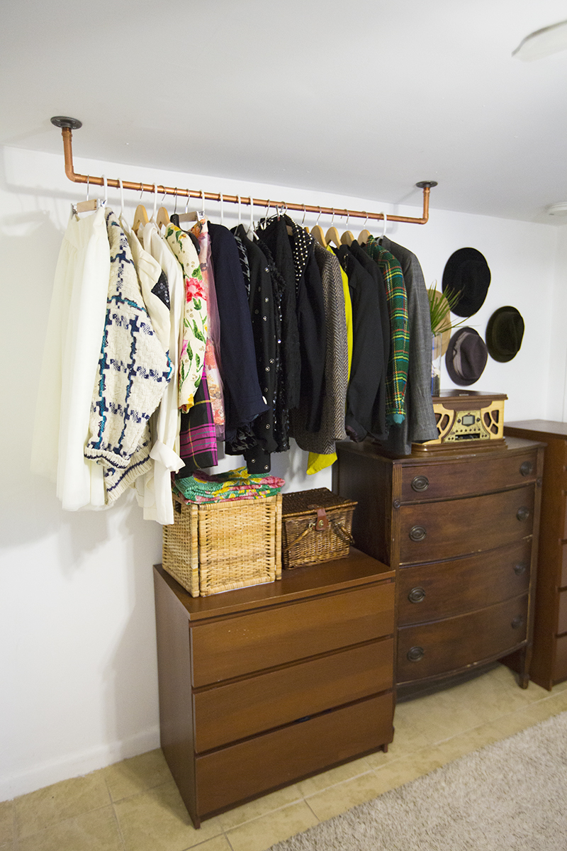 . You Can Conquer Your Clothing Storage Without a Closet  Here are 6