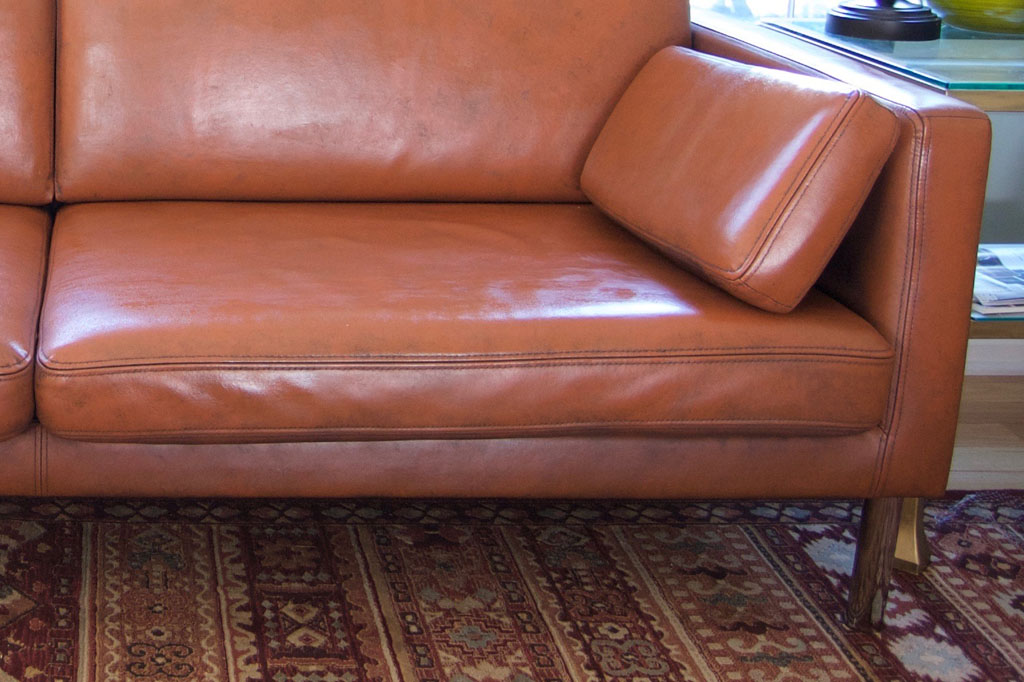 DIY Project Results: Can You Paint a Leather Sofa ...