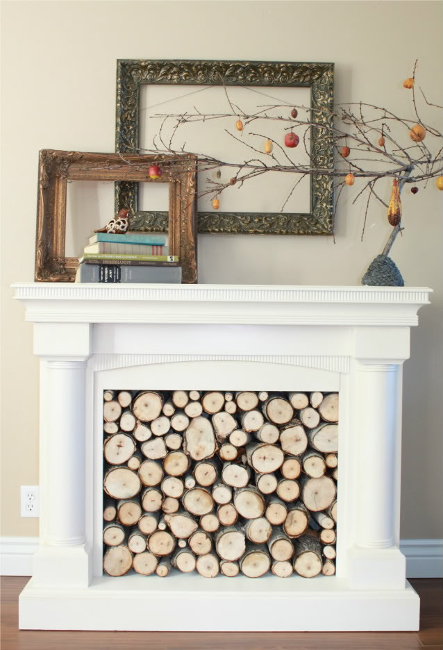 Diy Fake Fireplace Facades Faux Mantel Makeovers Apartment Therapy