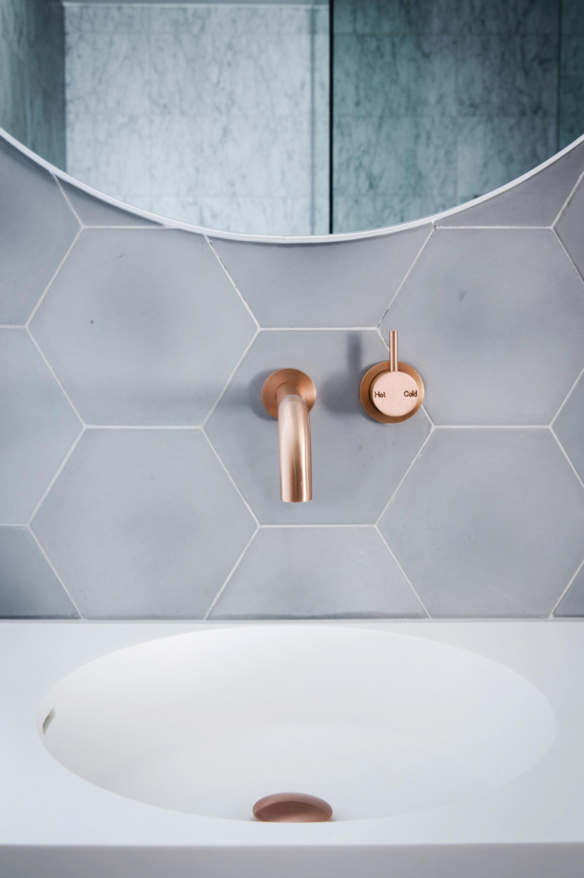Look We Love Copper In The Bathroom
