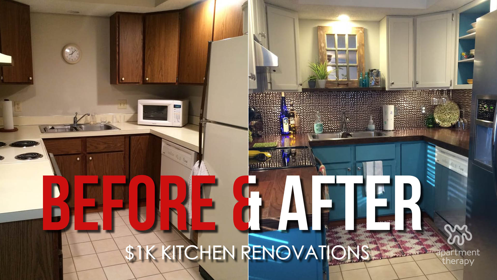Kitchen Renovations on a Budget - Video