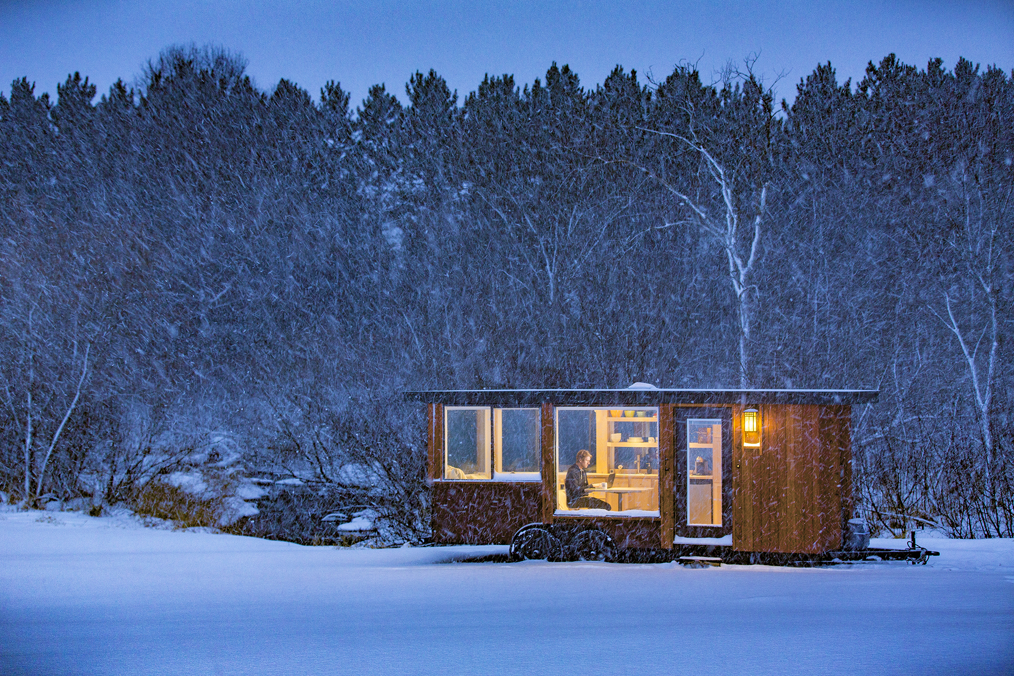 If You're Ready to Give Up on Everything and Move to the Country Forever, This is the Tiny House for You