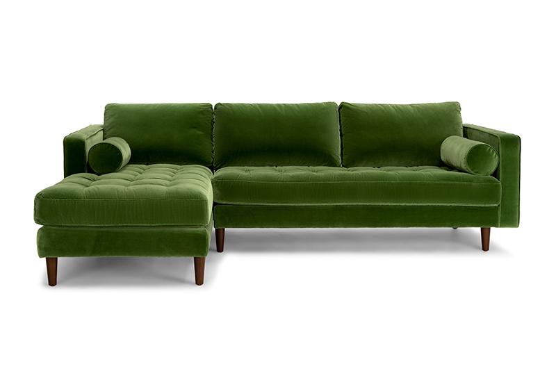 15 Beautiful Dark Green Sofas | Apartment Therapy
