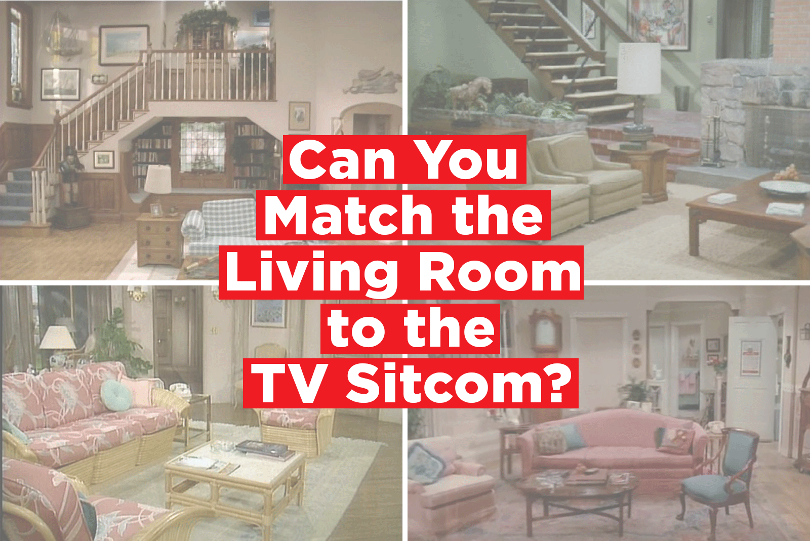 Pleasing Quiz Match The Famous Living Room To The Tv Sitcom Theyellowbook Wood Chair Design Ideas Theyellowbookinfo
