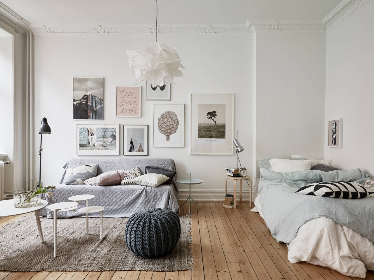 How to Create a Separate Bedroom in a Studio Apartment | Apartment ...