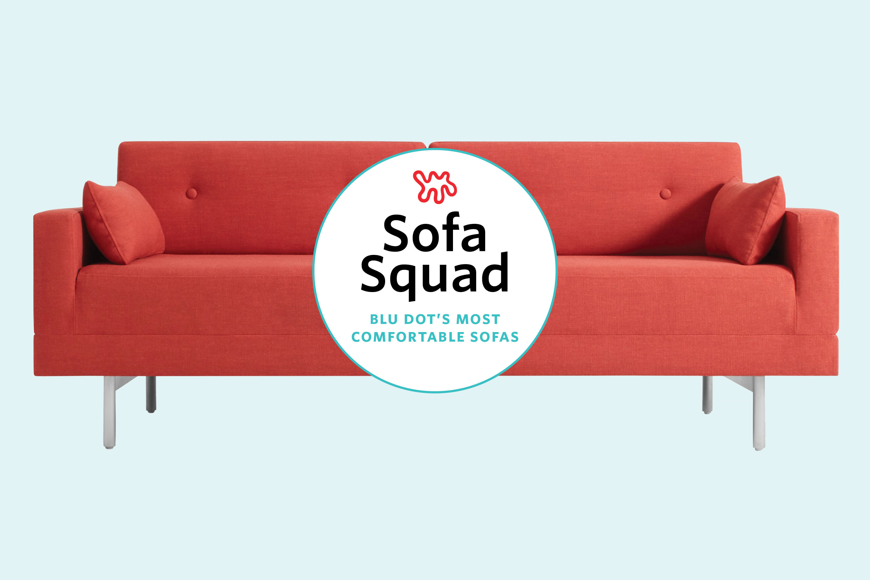 Most Comfortable Sofas At Blu Dot