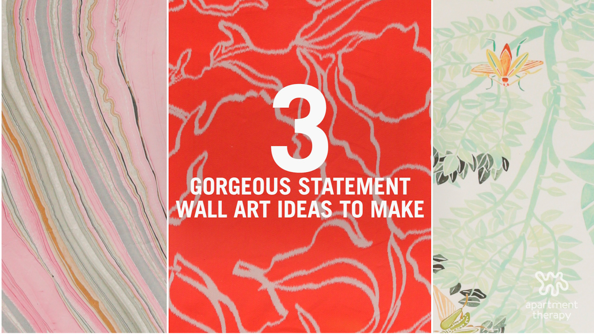 3 Gorgeous Statement Wall Art Ideas To Adorn Those Empty Walls